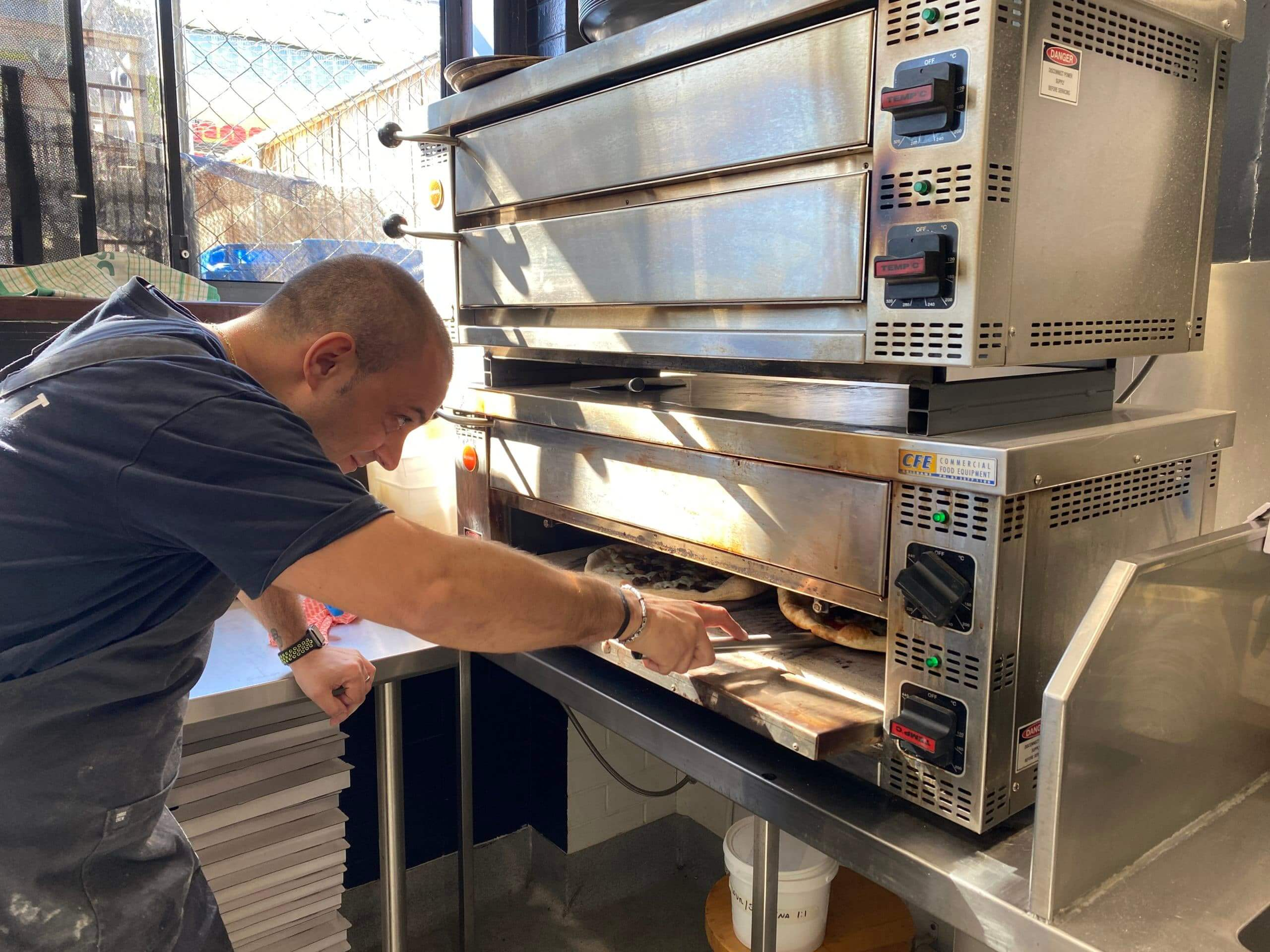Hospitality success with Cookon stackable Pizza Ovens