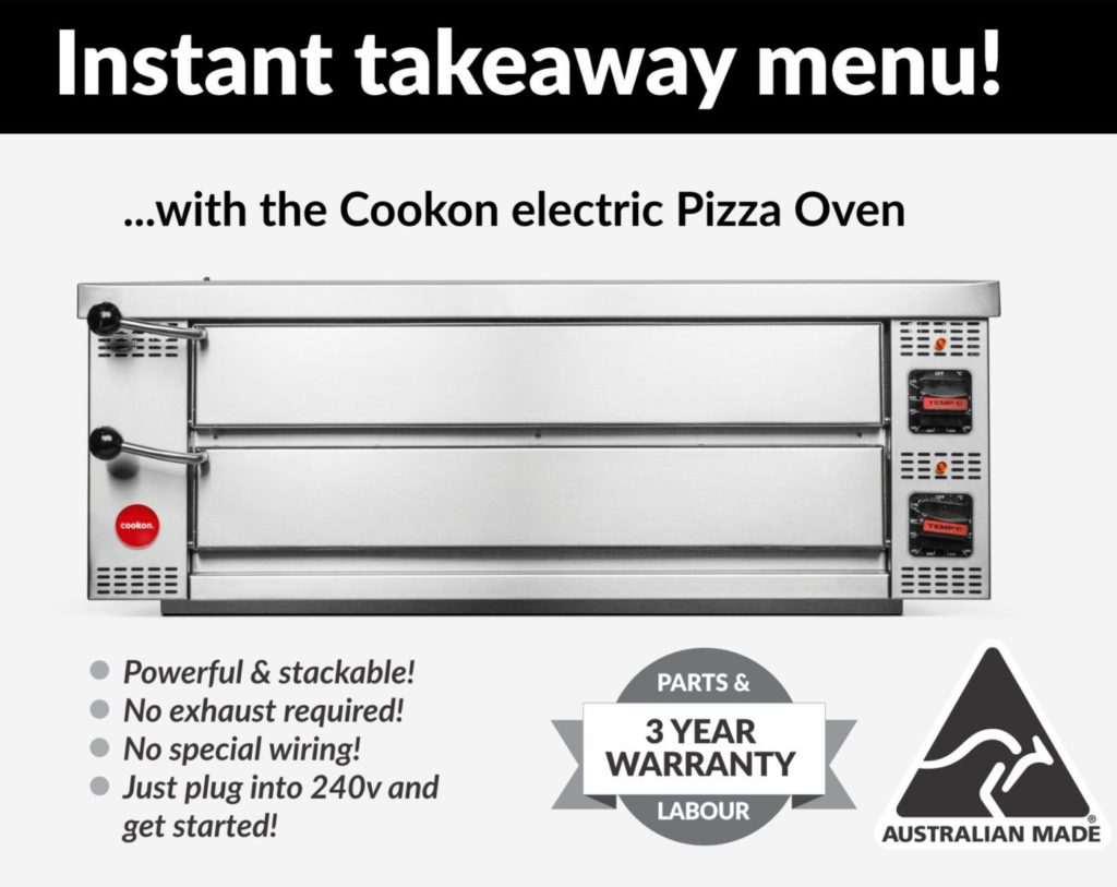 Hospitality success with a Cookon Commercial pizza oven